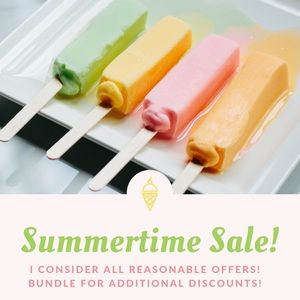Summer Sale! Everything must go so make an offer!